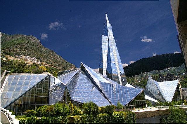 Balneario de Caldea en Andorra
