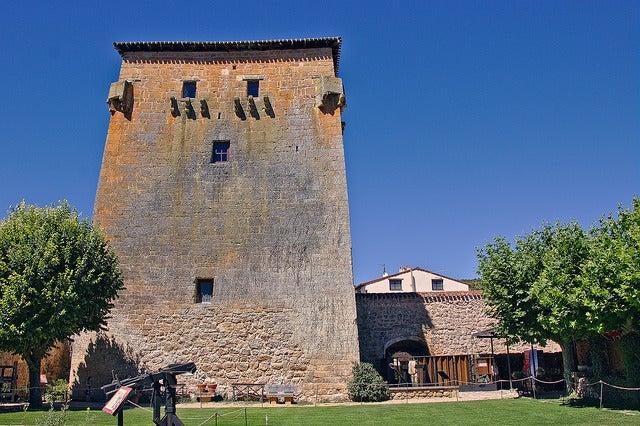 Torre de Fernán González en Covarrubias