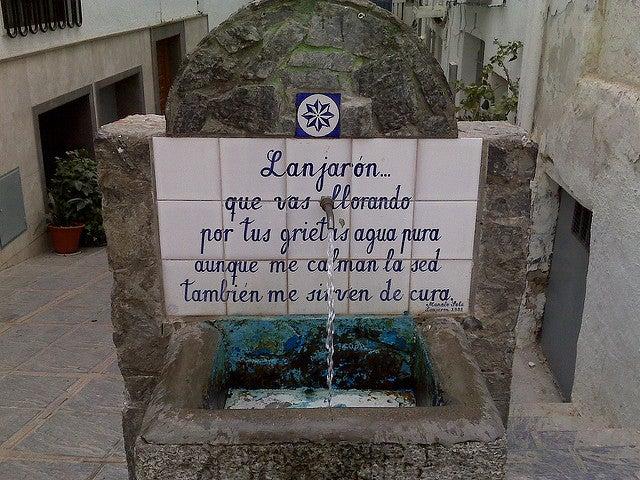 Lanjarón, uno de los pueblos de Granada más bonitos