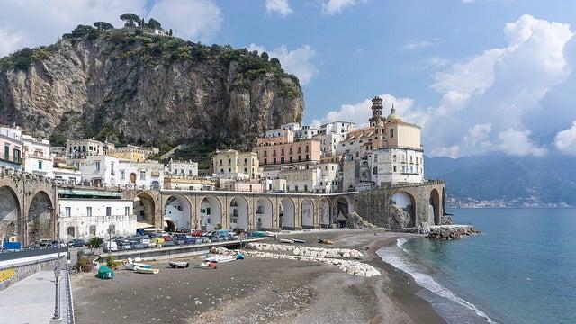 Atrani en Costa Amalfitana