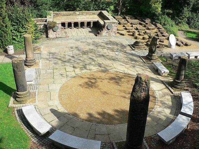 Jardín romano, uno de los rincones de Chester más interesantes