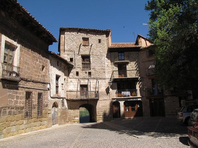Portal de Cabra en Mora de Rubielos