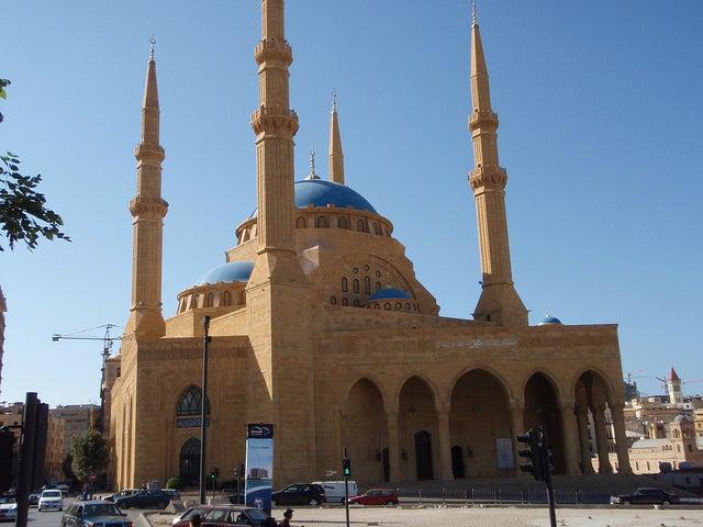 Mezquita Mohammad Al-Amin en Beirut