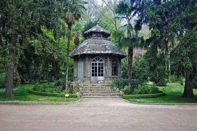 Chalet del Corcho en los Jardines del Campo del Moro