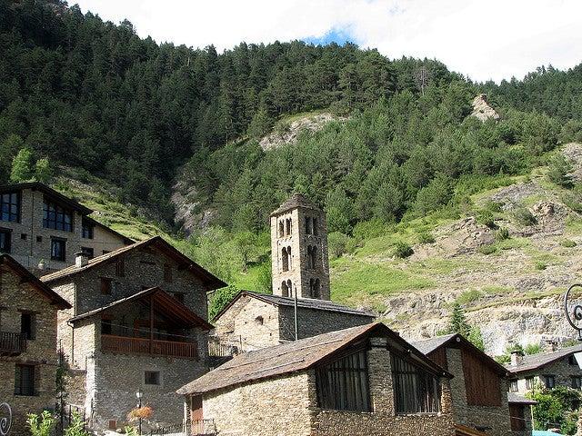 Iglesia de San Clemente en Andorra