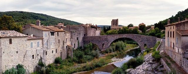Lagrasse en el sur de Francia