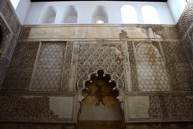 Sinagoga en la judería cordobesa