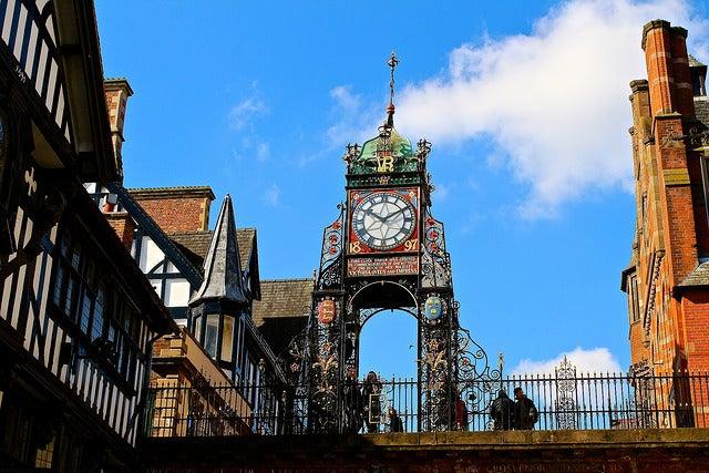 Eastgate Clock, uno delos rincones de Chester más bonitos