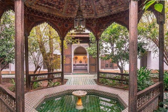 Mueso Dar Si Said enla Ciudad Imperial de Marruecos