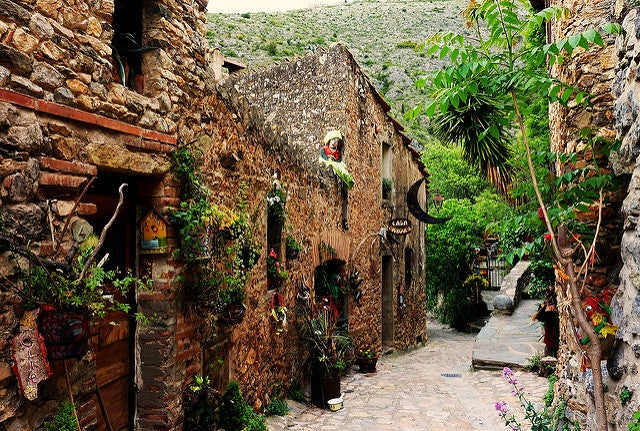 Castelnou en el sur de Francia