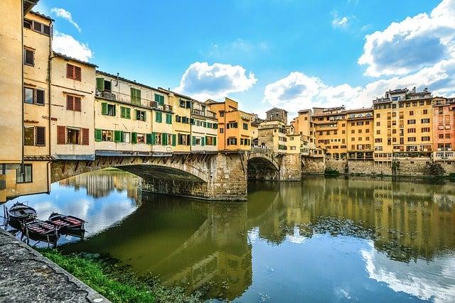 Puente Vecchio en Florencia