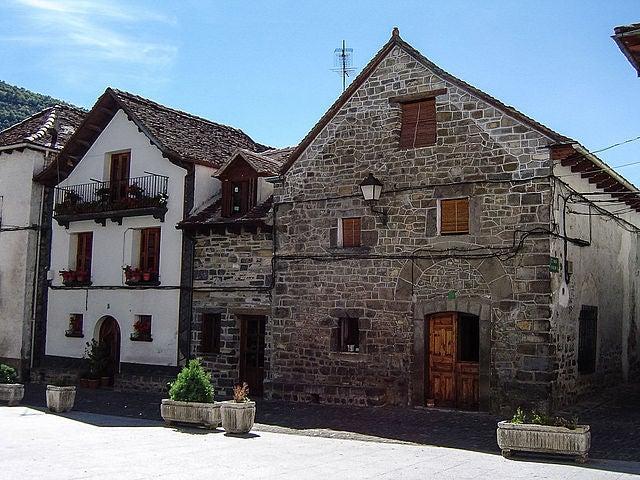 Casas de Ansó