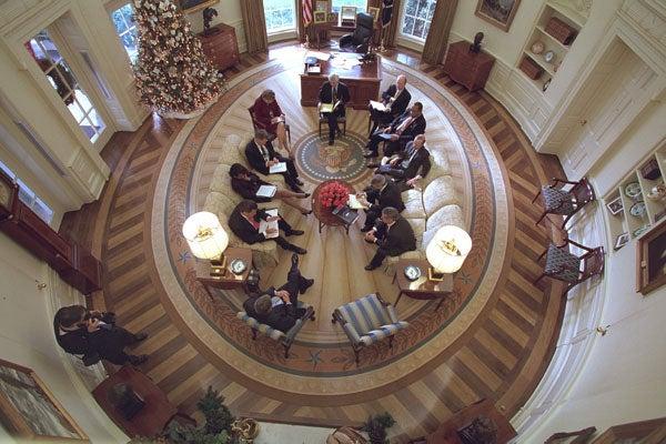 Despacho Oval en la Casa Blanca