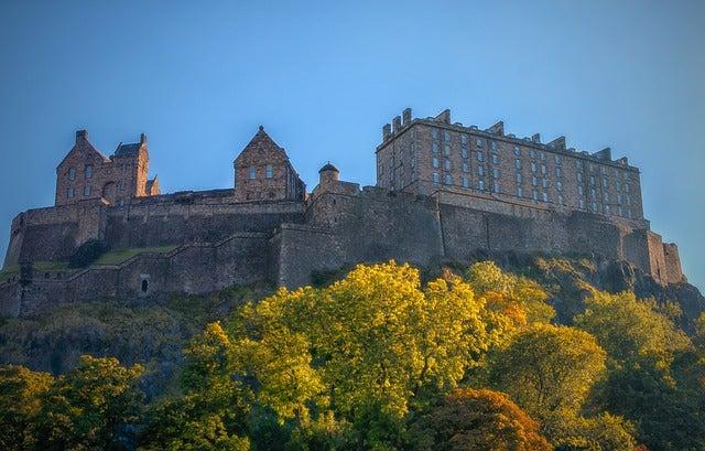 Castillo de Edimburgo, lugar del One O'Clock Gun