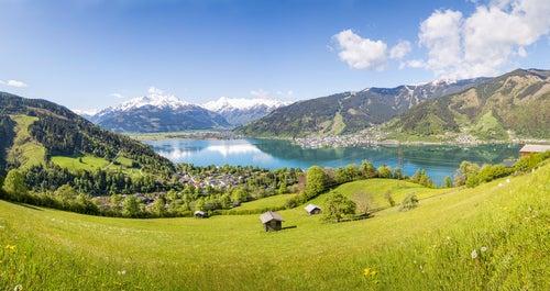 Recorremos el lago Zell en el corazón de los Alpes