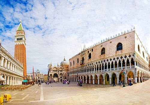 ¿Sabías que la plaza de San Marcos es la única plaza de Venecia?