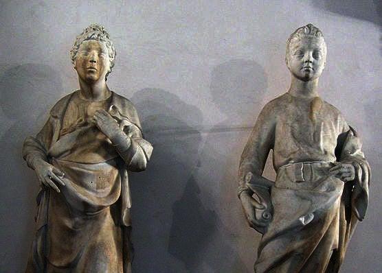 Los profetas de Donatello.