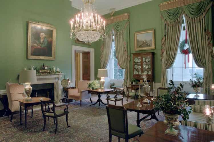 Salón Verde de la Casa Blanca