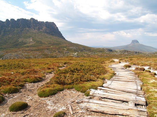 Cradle Mountain en Australia