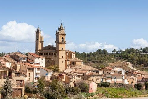 Vista de Haro en La Rioja
