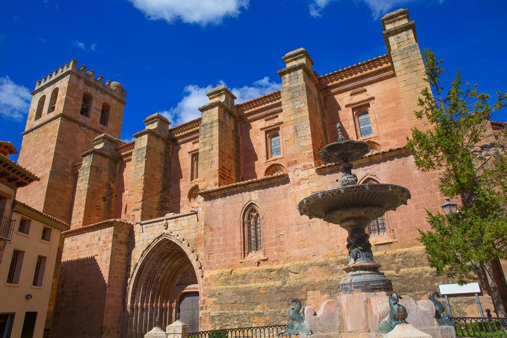 Excolegiata de Santa María en Mora de Rubielos