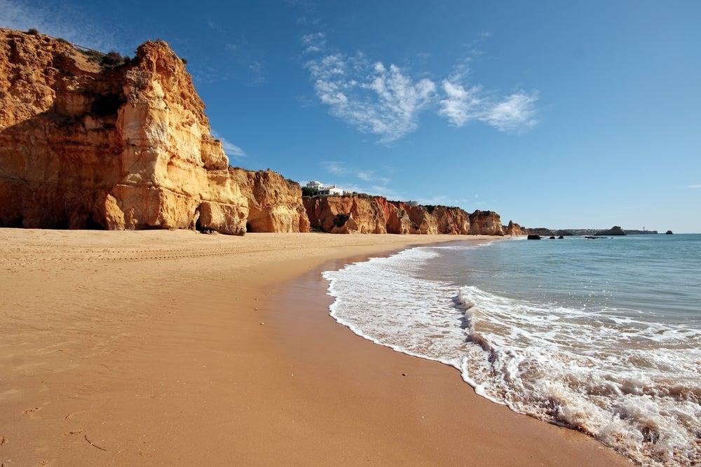 Praia da Rocha, uno de los grandes atractivos del Algarve