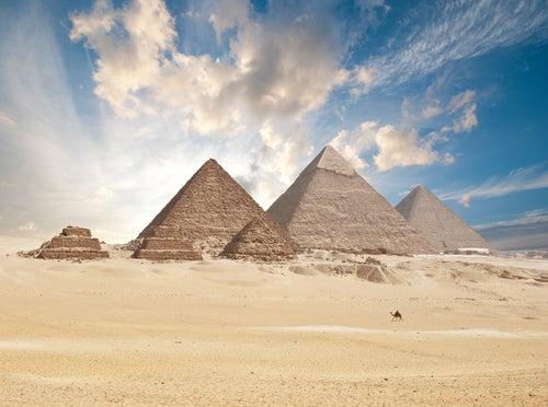Conoce las misteriosas pirámides de Gizah en Egipto
