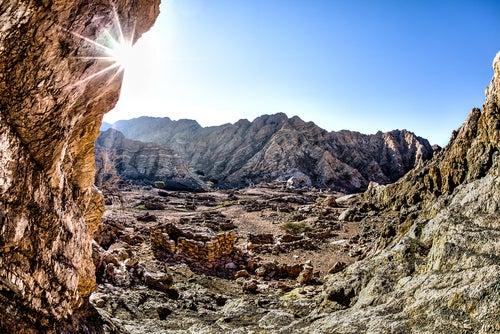 Ruinas de Julfar, una de las ciudades perdidas en Dubái