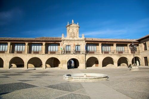 Vista de Santo Domingo de la Calzada en La Rioja