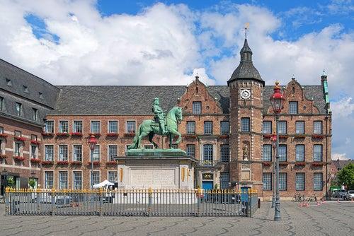 Marktplatz en Dusseldorf