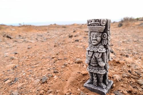 Símbolo azteca de ciudades perdidas