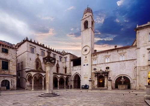 Palacio Sponza en Dubrovnik