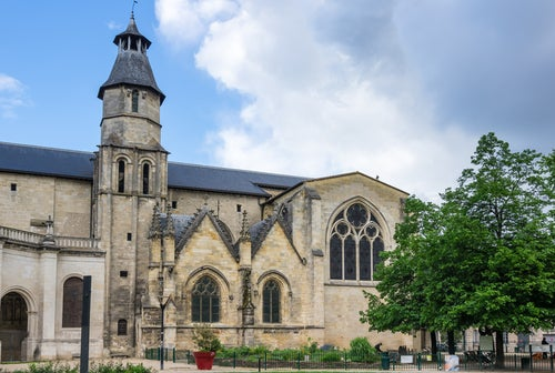 Basílica de San Severín en Burdeos