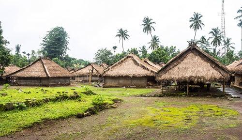Pueblo tradicional de Lombok