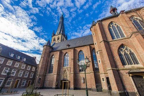 Iglesia de St. Lambert en Dusseldorf