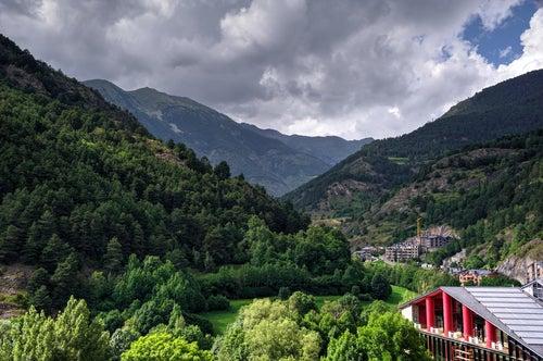 Vista de Ordino en Andorra
