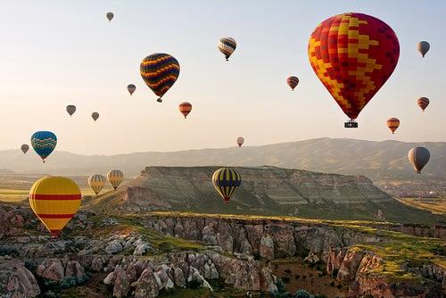 Los mejores lugares en el mundo para hacer un viaje en globo