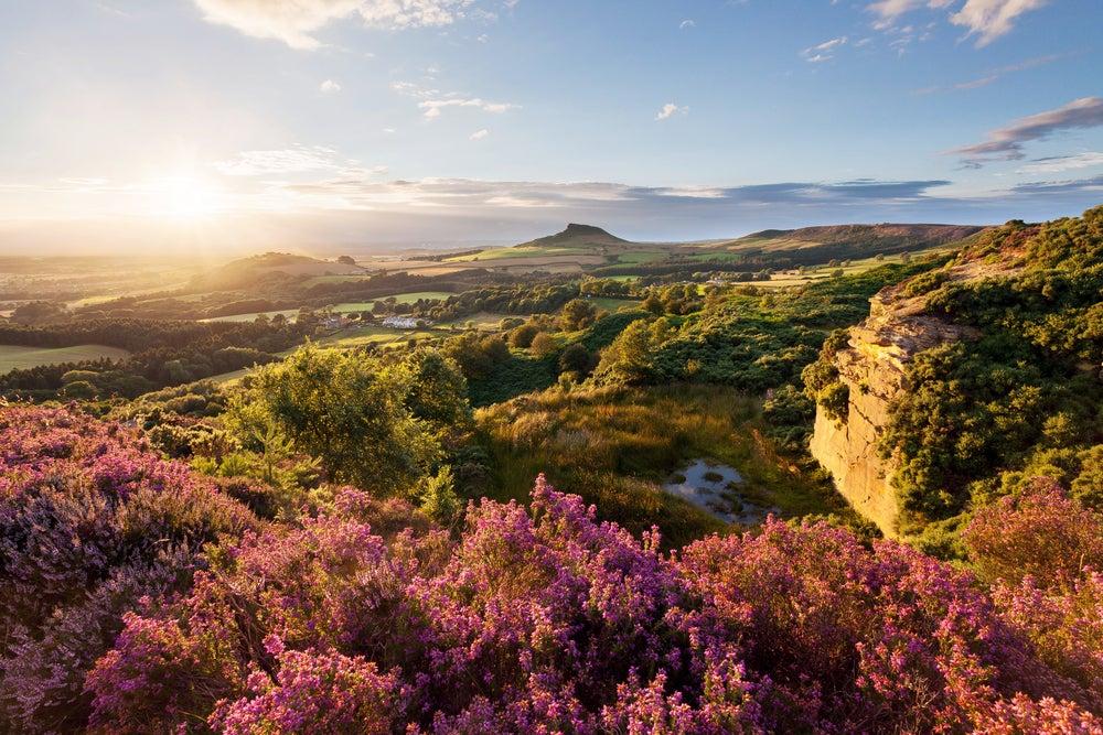 Parque Nacional Nord York Moors en Inglaterra