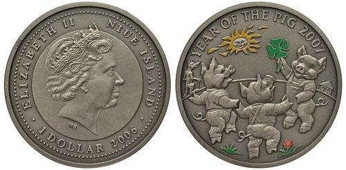 Moneda de Niue, uno de los países menos conocidos