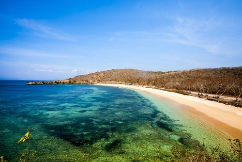 Pink Beach en Lombok