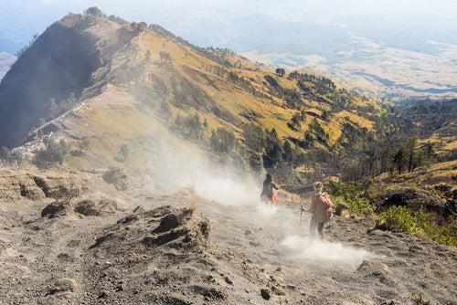 Monte Rinjani en Lombok