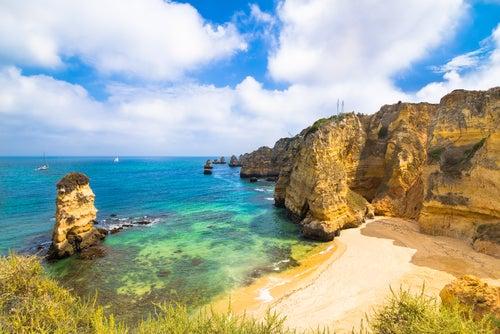 Playa de Doña Ana en Portugal