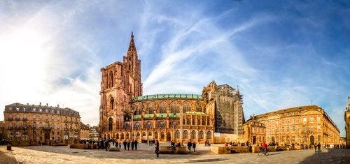 Exterior de la Catedral de Estrasburgo