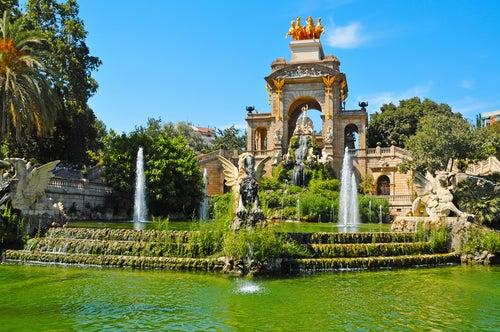 Parque de la Ciutadella en Barcelona