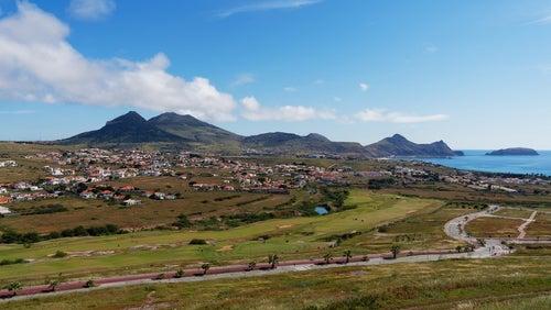Vista de Porto Santo