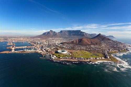 Ciudad del Cabo en Sudáfrica, una de las ciudades más peligrosas del mundo