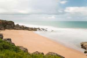 Playas nudistas de España, Cabo Roche