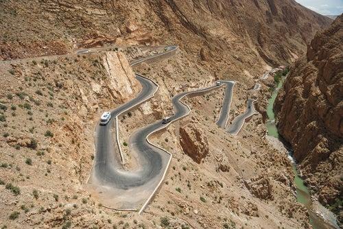 Viajes en autocaravana por Ouarzazate en Marruecos