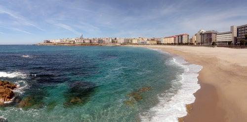 Playas de Galicia, Orzán