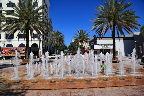 Waterplay en West Palm Beach